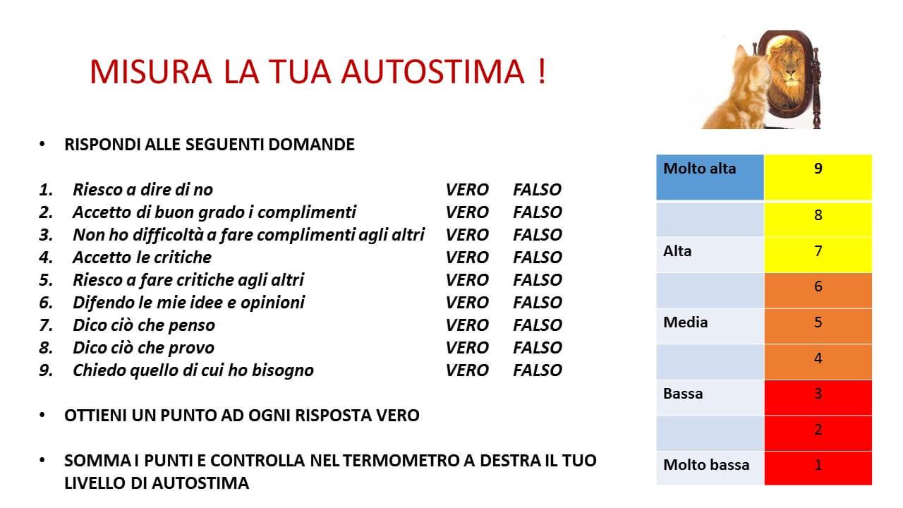 Misura La Tua Autostima Studio Coradeschi Arezzo