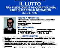 Scheda Iscrizione Corso Lutto tenuto da Onofri, Arezzo 20 Gennaio