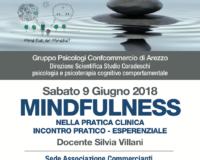 Mindfulness nella pratica clinica: Incontro pratico-esperenziale. Arezzo 9 giugno